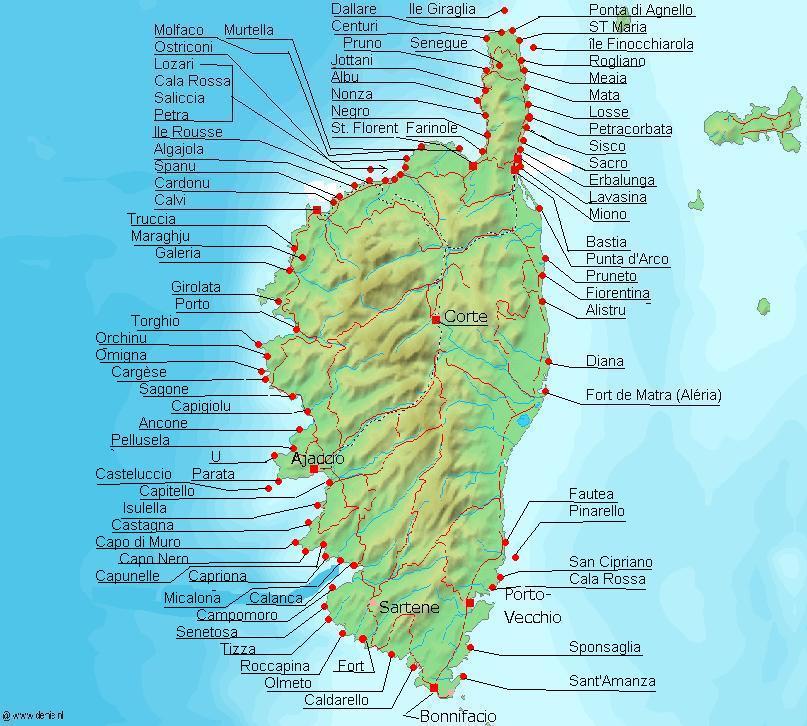 Korsika Na Morskem Kajaku Podel Zapadniho Brehu Horydoly Cz