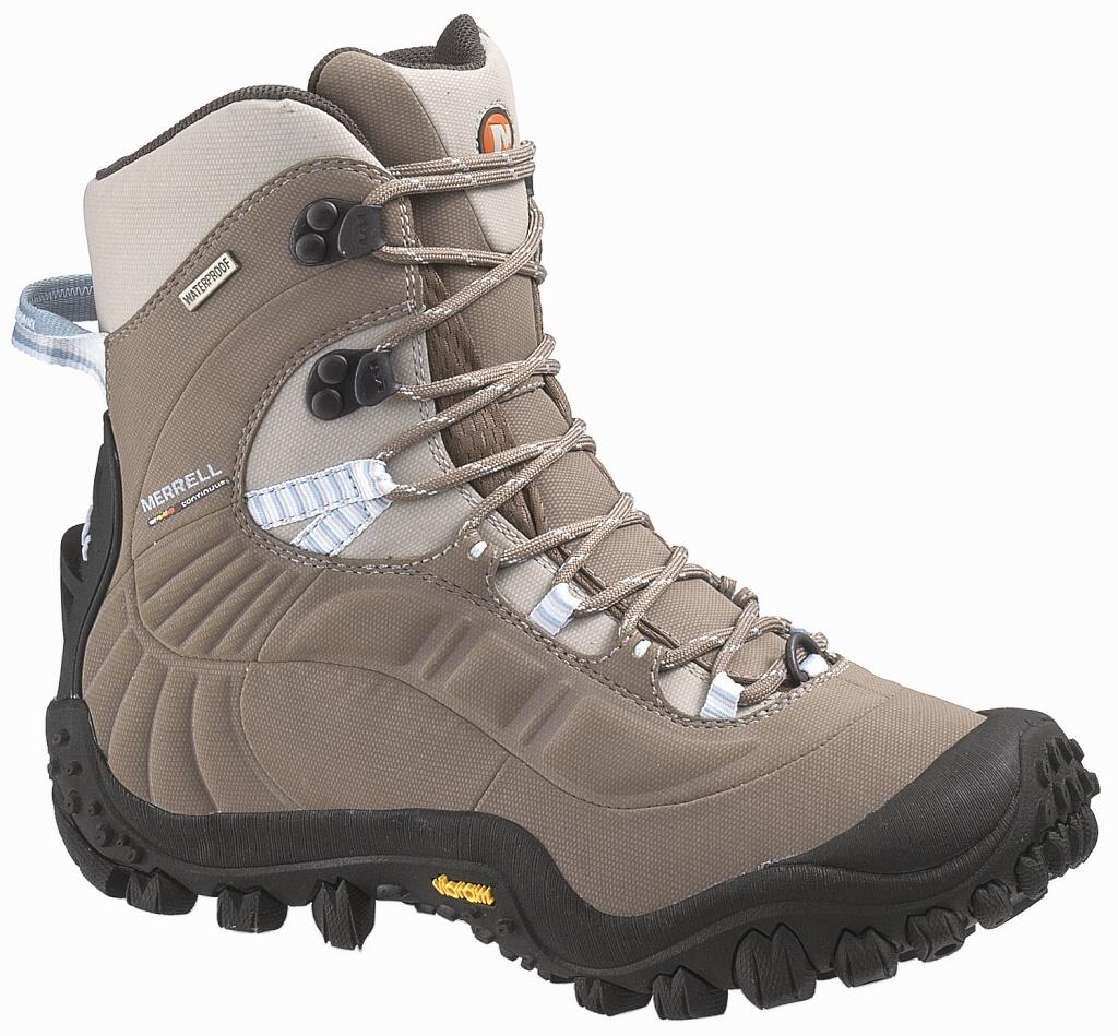 499b006ace4 Dámská obuv vhodná pro turistiku s lehčí a středně těžkou zátěží. Zateplení  PrimaLoft zvládá i extrémní podmínky. Podrážka byla speciálně vyvinutá pro  chůzi ...