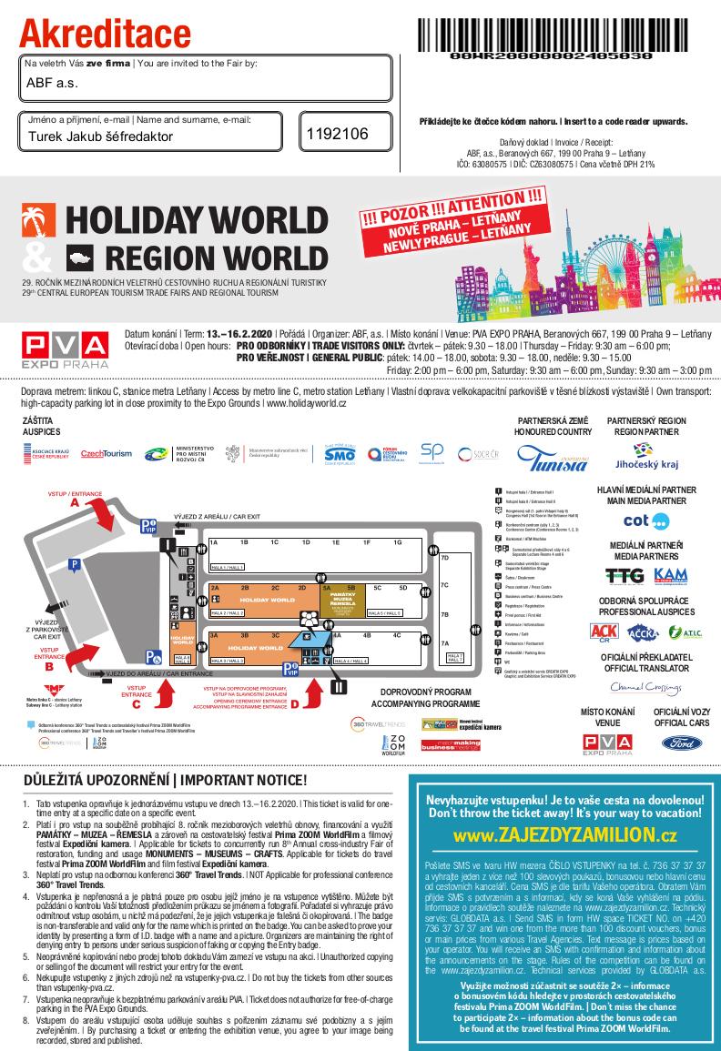 Holiday World akreditace