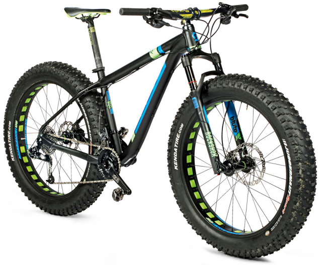 TEST Snowbike Scott Big Ed