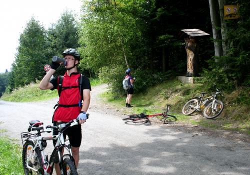 Vsetínské vrchy: hřebenovka na kole