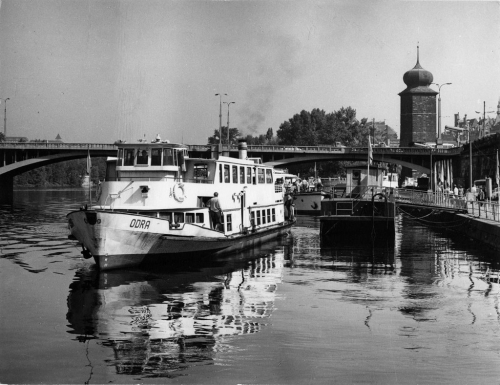 50 years of Odra river ship