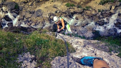 Rosina - nová feráta pod Dachsteinem