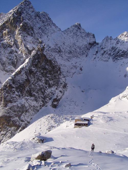 10 tipů na zimní lezení u Téryho chaty