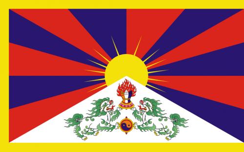 Co znamená tibetská vlajka