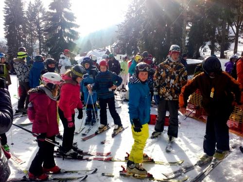 Černá Říčka: Tady jsou děti, lyže a sáňky doma