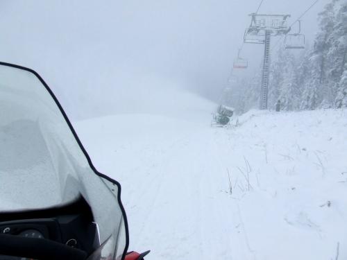 Začátek lyžařské sezony: Černá hora, Mladé Buky, Branná, Boží Dar