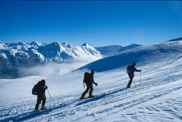 Lesachtal Valley, the Ski Tour and Snowshoe Paradise