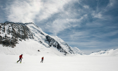 Extreme Ski Climbing: Seven Four-thousander Peaks in less than 24 hours!