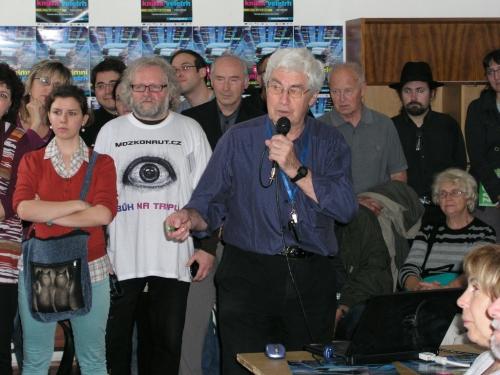Jiří Grygar oslavil osmdesátiny a vydá další knihu