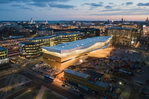 Oodi opens in Helsinki, marking a new era of libraries in the world's most literate nation