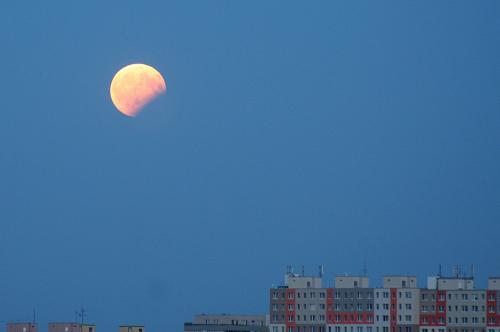 Zatmění Měsíce 7. srpna 2017