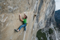 First professional photos and video: Adam Ondra Dawn Wall