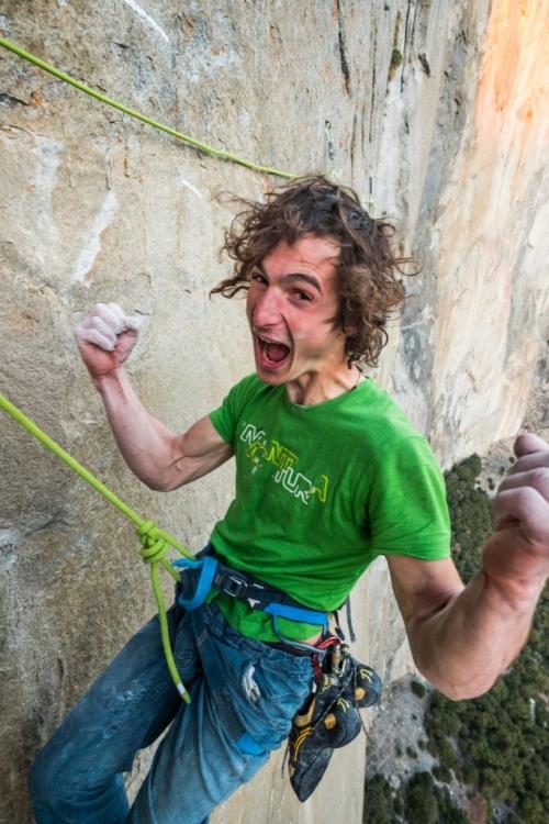 První profesionální fotky a video: Adam Ondra na Dawn Wall