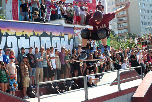 Tony Hawk´s European Vacation in Prague