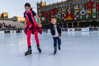 Eco-skating Ice Rink in Mexico City