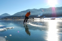 Lake Weissensee: Slow Wintersports for the Whole Family at Nature's Playground
