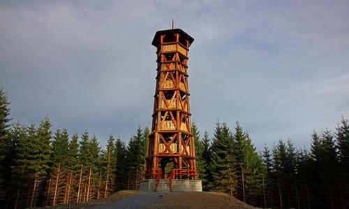 Rozhledna Miloňová Velké Karlovice