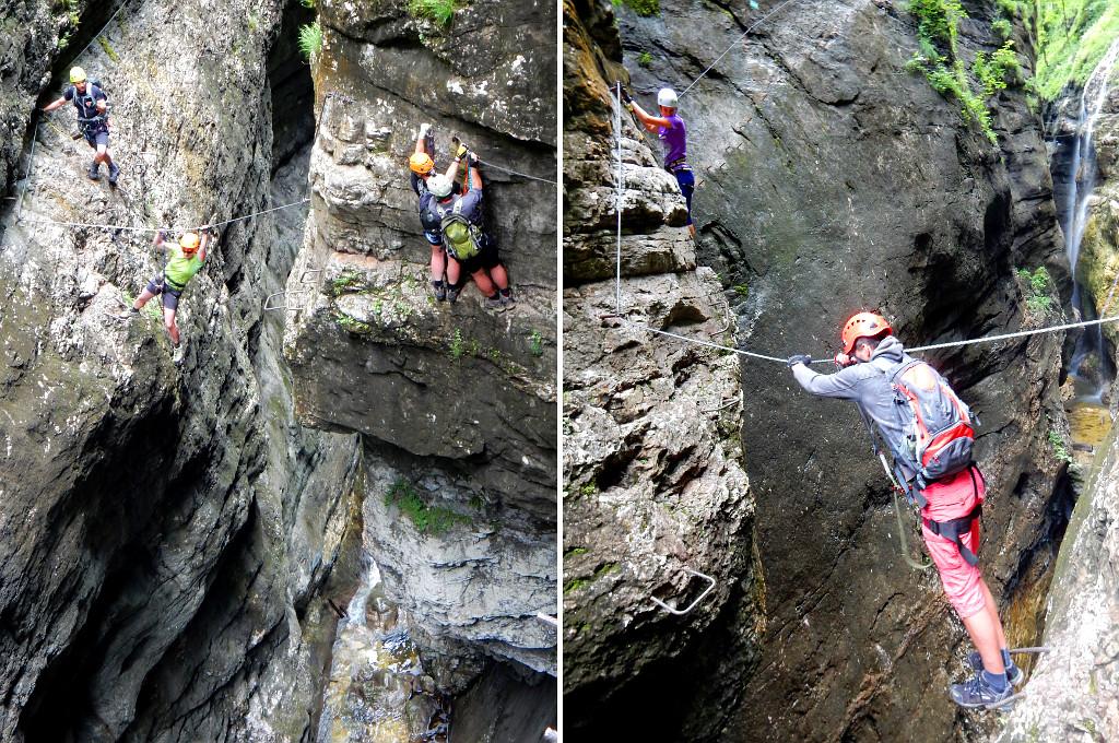 Klettersteig Rakousko : Galerie postalmklamm klettersteig zábavná rakouská feráta