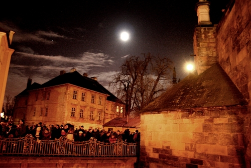 Prague Geonutshells is a traditional Christmas geocaching event