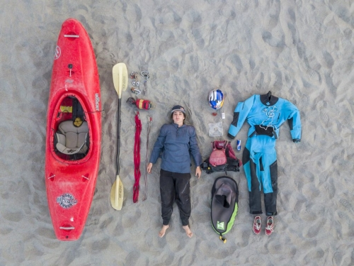 Kayaker Nouria Newman on Solo Expedition in India. Her Ultimate Week-long Voyage of Self-discovery