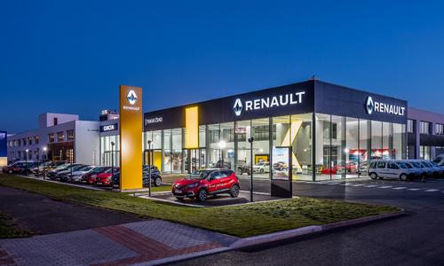 Nový autoservis Dacia a Renault v Praze