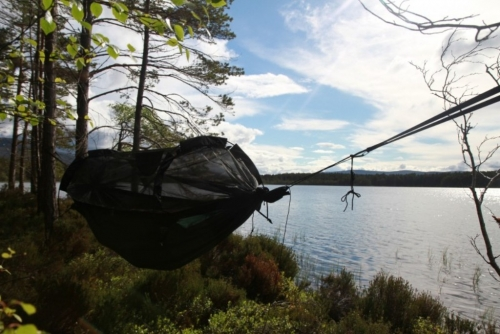 TEST DD Jungle Hammock: Visací spánek