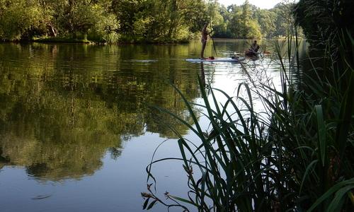 Koupací vyjížďka: Hostivařská přehrada, Podleský rybník a Slatina