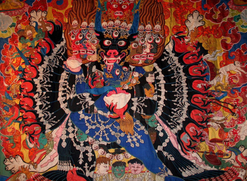 Buddhistické umění ze sbírky Reinholda Messnera na hradě Firmian.