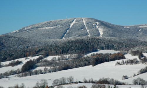 Černá hora v Krkonoších.