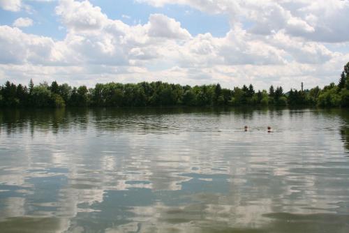 Podleský rybník, romantické koupání nedaleko Uhříněvsi.