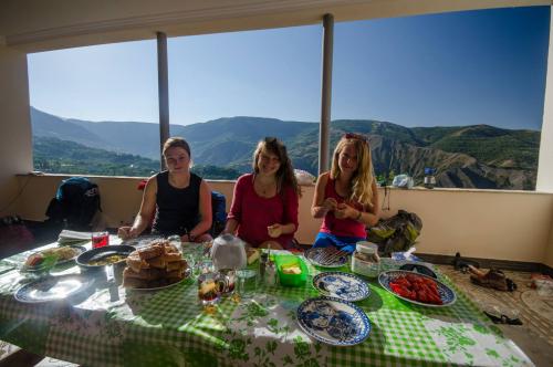 Arménie, snídaně snů.