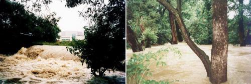 Povodeň Botič 2002.