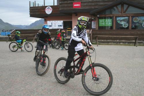 Livigno, bikepark Mottolino.