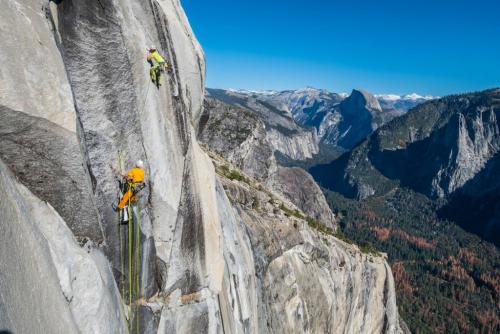 Yosemite, Dawn Wall, Adam Ondra.