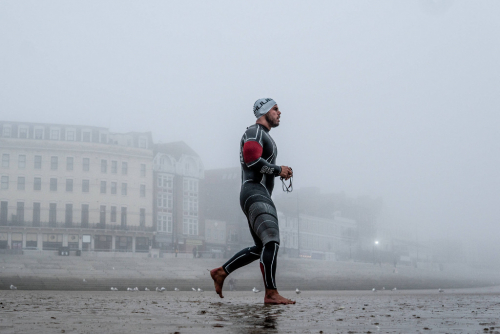 Ross Edgley completes historic Great British Swim.