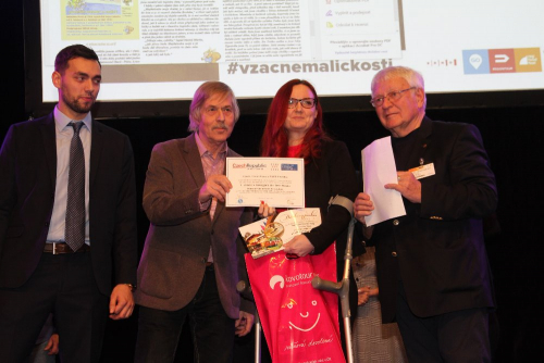 Novinářská cena Czech Travel Press 2019.