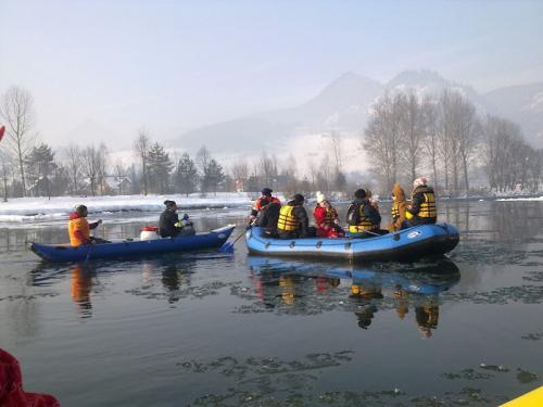 Dunajec, zimný splav 2012.
